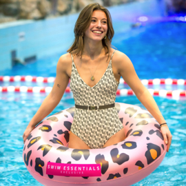 THE ESSENTIALS | Opblaasbare Zwemband Panterprint (90 cm)