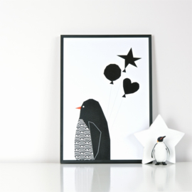 Ingrid Petrie Design - Balloons print (A4)