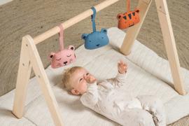 Jollein   Houten Babygym (exclusief speeltjes)