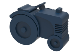 Blafre Lunchtrommel Tractor (donkerblauw)
