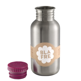 Blafre Drinkfles RVS 500 ml (plum red)