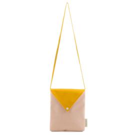Sticky Lemon schoudertasje Envelope (soft pink)