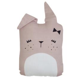 Fabelab knuffel/kussen Cute Bunny