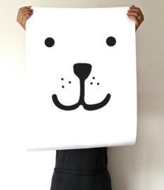 Tellkiddo Poster Bear (A4)