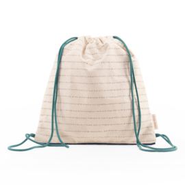 Sticky Lemon Drawstringbag (grass green)