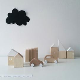 Pinch Toys Houten blokken City