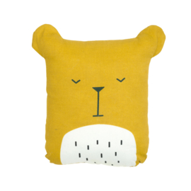 Fabelab knuffel/kussen Lazy Bear