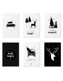 Zoedt | Set Cadeaukaartjes Kerst (6 stuks)