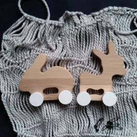 Pinch Toys Ezel & Konijn