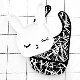 VanPauline melamine bordje Bunny