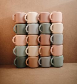 Mushie | Siliconen Snack Cup - Cambridge Blue