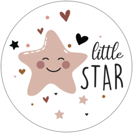 Label-R Kids | Muurcirkel Little Star