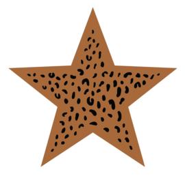 Label-R | Ster Leopard Hazelbruin