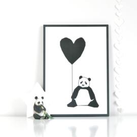 Ingrid Petrie Design - Panda print (A3)