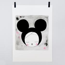 Victoria Lilly | A4 print Sleepy Hazel