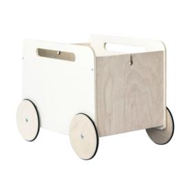ooh noo houten speelgoedkist op wielen