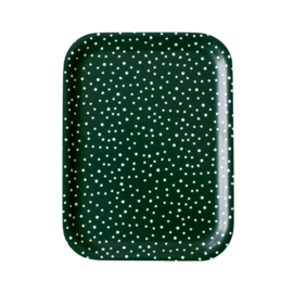 Nämä dienblad Lumi Snow 20 x 27 cm (green)