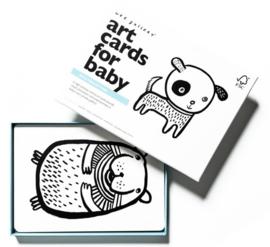 Wee Gallery | Baby kijkkaarten huisdieren / pets