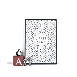 Ingrid Petrie Design - Little Star print (A4)
