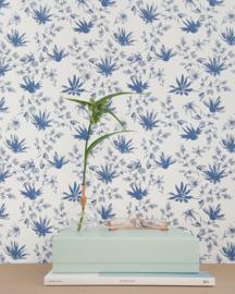 Scandinaviaform bloemenvaasje Glasilium 6,5 cm (doorzichtig)