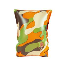 SWIM ESSENTIALS | Zwembandjes Camouflage (2-6 jaar)