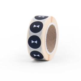 Sticker Bows (zwart/wit)