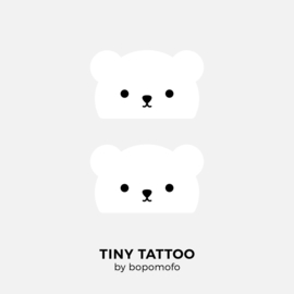 BoPoMoFo | Water print tattoo Baby Bear