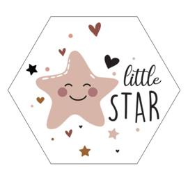 Label-R Kids | Hexagon Little Star