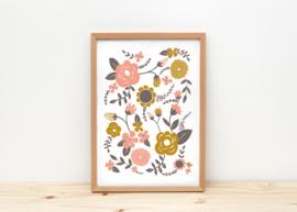 Depeapa Print Flowers (A4)