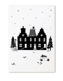 Zoedt | Kerstkaart Huisjes Kerst