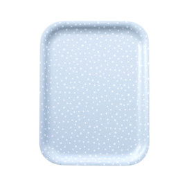 Nämä dienblad Lumi Snow 20 x 27 cm (grey blue)