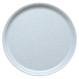 Nämä dienblad Lumi Snow Ø 35 cm (grey blue)