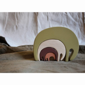 Pinch Toys | Puzzel Olifant - Forest