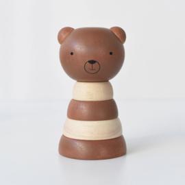 Wee Gallery | Houten Stapeltoren - Bear