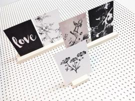 Dots Lifestyle - Kaartenhouder middel (voor 2 kaarten)