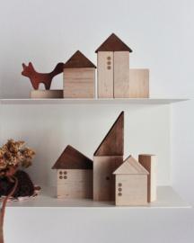 Pinch Toys Houten Blokken Vintage City