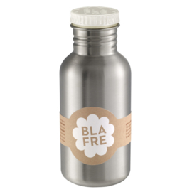 Blafre Drinkfles RVS 500 ml (witte dop)