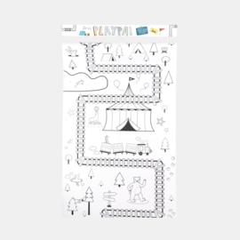 Olli Ella | 8 meter kleurplaat Playpa - Forest