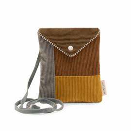 Sticky Lemon | Wallet Bag Corduroy (woody green)
