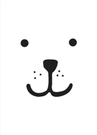 Tellkiddo Poster Bear (A3)