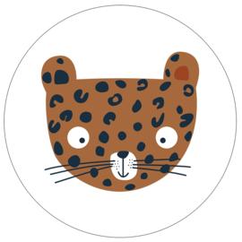 Label-R Kids | Muurcirkel Luipaard (hazelbruin)