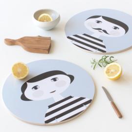 Nämä Houten bord / Snijplank Mia (Ø 31 cm)
