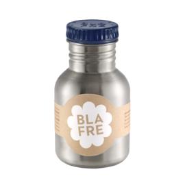 Blafre Drinkfles RVS 300 ml (donkerblauwe dop)