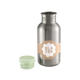 Blafre Drinkfles RVS 500 ml (lichtgroene dop)