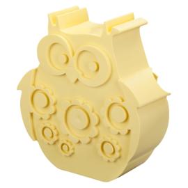 Blafre Lunchbox Uil (lichtgeel)