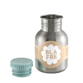 Blafre Drinkfles RVS 300 ml (blauwgroene dop)