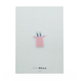 Miss Rilla | Pin Konijn in Hoed