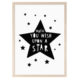 Mini Learners - Poster When You Wish Upon A Star (A3)