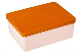 Blafre | Lunchtrommel Sea Life (oranje / lichtroze)