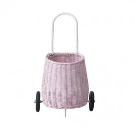 Olli Ella Luggy Basket Boodschappenwagen - Roze